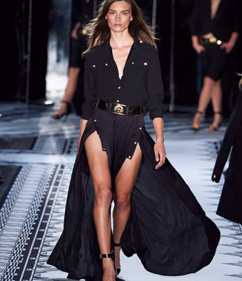 Anthony Vaccarello X Versus